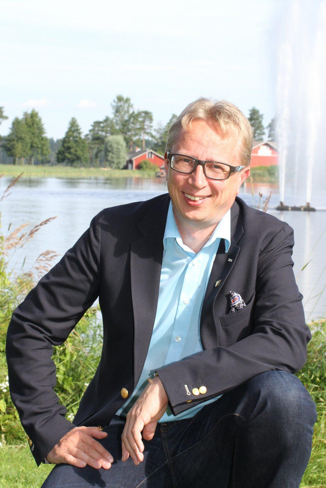 Mäntyharjun kunnanjohtaja Jukka Ollikainen.
