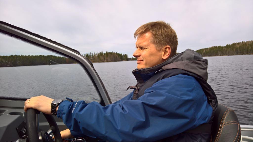 Veiston toimitusjohtaja Markku Rautio. Mäntyharju.