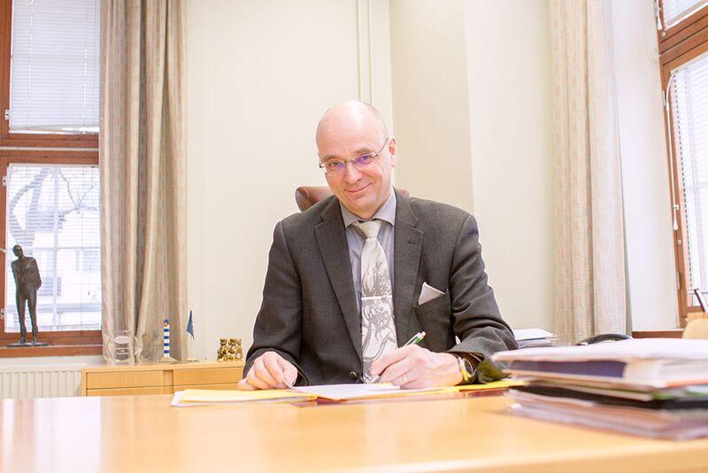 Mikkelin kaupunginjohtaja Timo Halonen.