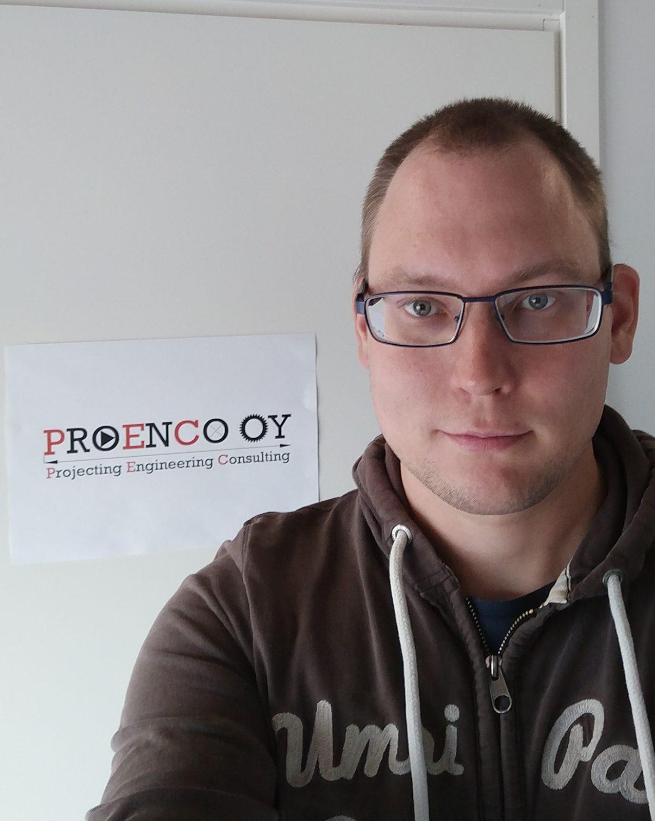 Proencon yrittäjä Tero Kämppi Pertunmaa.