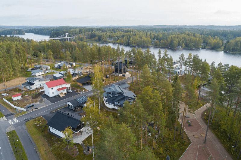 Mikkelin asuntomessualue. Kuva HuomMikkeli.