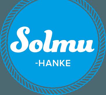 Mikkelin seudun muuttajahanke Solmun logo.