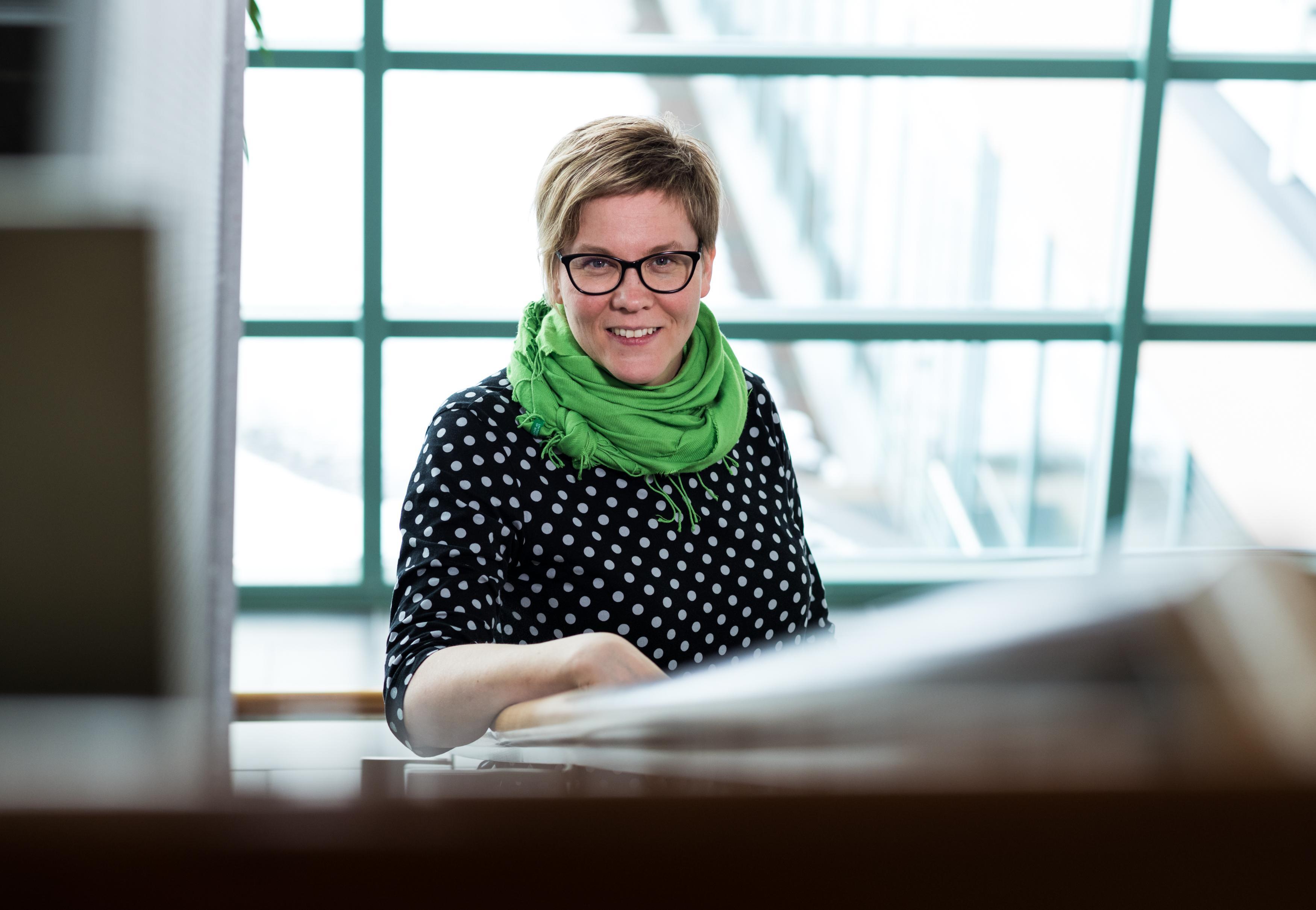 Laura Jouhkimo Mikkeli. Kuva Pihla Liukkonen Kontrastia.