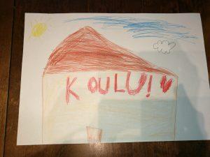 eroakiireesta_Juvan uusi koulukampus lapsen piirros_Mikkelin seutu