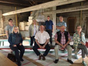 eroakiireesta_Etelä-Savon yrittäjät ja maakuntajohtaja Pentti Mäkinen yritysvierailuilla Pertunmaalla kesäkuu2020 Mikkelin seutu