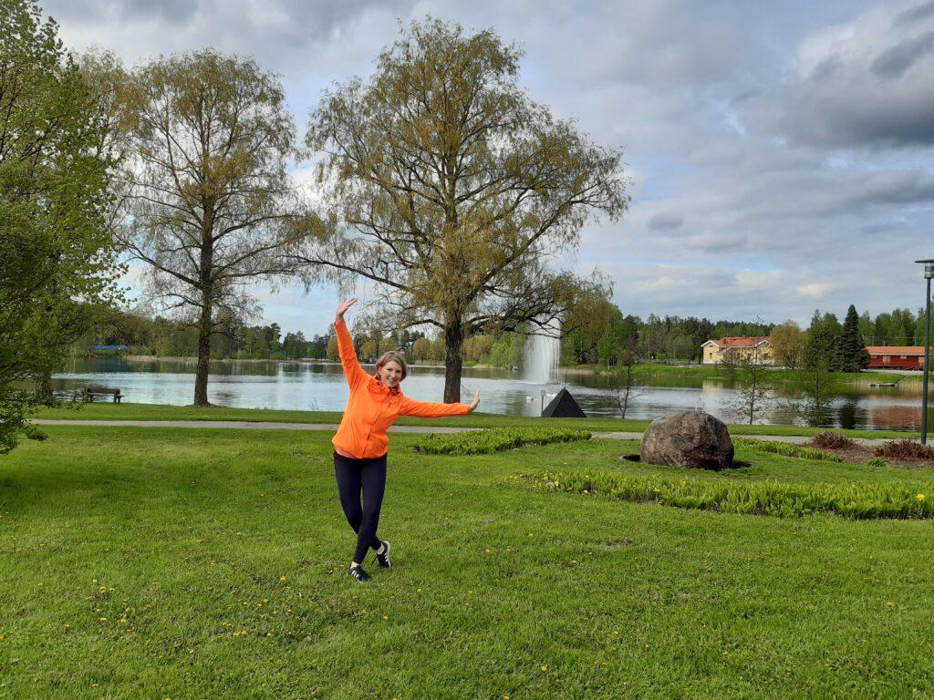 Sari Karppi. Mäntyharju, Mikkelin seutu. Kuva Mervi Arsiola.