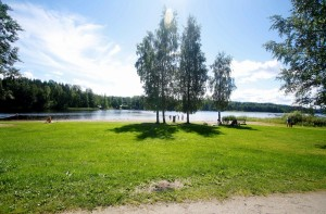 Uimaranta Mikkelissä.