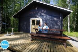 Hokan kylän kylätupa Kangasniemi.