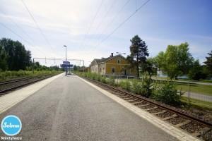 Juna-asema Mäntyharju.