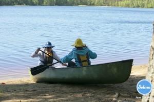 Melonnan kuivaharjoittelua Juva Camping.